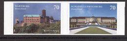GERMANY 2017 EUROPA Wartburg, Ludwigsburg Castles; Scott Catalogue No(s). 2973-2974 MNH Self-adhesive Pair (Lot 1) - 2017