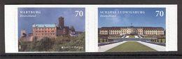 GERMANY 2017 EUROPA Wartburg, Ludwigsburg Castles; Scott Catalogue No(s). 2973-2974 MNH Self-adhesive Pair (Lot 2) - 2017