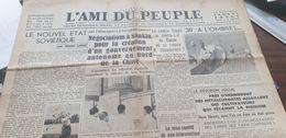 AMI DU PEUPLE 37 /NOUVEL ETAT SOVIETIQUE /CHINE NANKIN /COMTE CIANO /HENNEBONT BAGARRE AGRICULTEURS METTALURGISTES - Newspapers