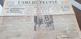AMI DU PEUPLE 37/ DEBOISEMENT /CHINE NANKIN /HENLEIN HITLER / - Newspapers