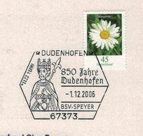 """Friedrich I., Genannt Barbarossa (italienisch Für """"Rotbart"""") - Margerite Dudenhofen 2006 - Persönlichkeiten"""