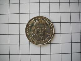 1305   Jeton Médaille An 2000 HENRY FORD Homme Du Millénaire Inventeur Automobile  1863 1947  FORD T - France