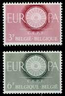 BELGIEN 1960 Nr 1209-1210 Postfrisch X9A2C16 - Bélgica