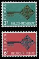 BELGIEN 1968 Nr 1511-1512 Postfrisch X9D163A - Bélgica