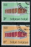 BELGIEN 1969 Nr 1546-1547 Gestempelt X9D196E - Bélgica