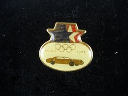 1297    PINS  Pin's BUICK Voiture Jeux Olympiques 1972 - Olympic Games