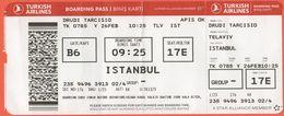 TURKISH AIRLINES - 2020 - BOARDING PASS - BİNİŞ KARTI - TK 0785 - TLV-IST - Telaviv-Istanbul - Vliegtickets