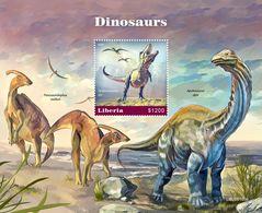 Liberia 2020  Dinosaurs S202003 - Liberia