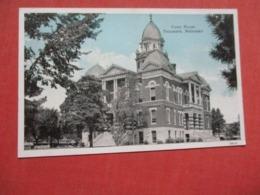 Court House Tecumseh Nebraska    Ref 4135 - Autres