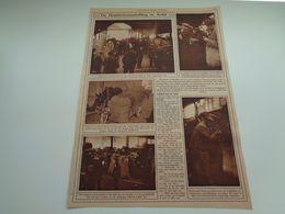 "Origineel Knipsel ( 56 A ) Uit Tijdschrift "" Ons Land ""  1926 : Hoptentoonstelling  Hop Hoppe  Houblon  Alost  Aalst - Vieux Papiers"