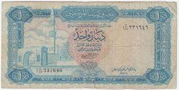 Libya P 35 B - 1 Dinar 1972 - C/32 331646 - Libyen