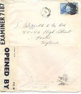 TERRE-NEUVE NEWFOUNDLAND JOE BATTS ARM TàD MR 2 42 (2-3-1942) => ENGLAND OUVERT Par CENSURE GUERRE 39-45 - Terre-Neuve