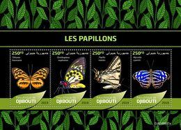 Djibouti 2019 Fauna  Butterflies  S202001 - Yibuti (1977-...)