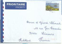 YT 866 - Pseudo-cratères De Skutustadir - Europa - Lettre Pour La France - Covers & Documents