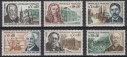 France: 1966. Y&T  N° 1470/75 ** MNH, Neuf(s). Cote Y&T 2020 : 2,40 € - Neufs