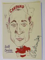 Adolf CHRISTIAN - Signé / Dédicace Authentique / Autographe - Cyclisme