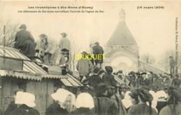 56 Ste Anne D'Auray, Inventaires 1906, Les Défenseurs Surveillent L'arrivée De L'agent Du Fisc - Sainte Anne D'Auray