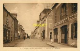 56 Port-Louis, Rue De La Citadelle, Café-épicerie Le Floch..., Belle Carte Pas Courante - Port Louis