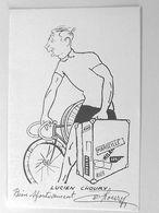 Lucien CHOURY - Signé / Dédicace Authentique / Autographe - Cyclisme