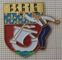 PETANQUE FFPJP PARIS - Pétanque