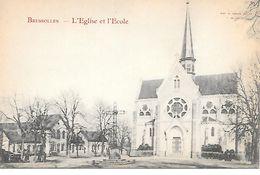03     Bressolles     Place De L'église & L'école - France