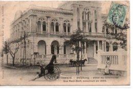Tonkin-Haïphong- Hôtel Du Commerce-Rue Paul Bert, Construit En 1886 - Viêt-Nam