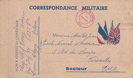 Correspondance Militaire ,voir TAMPON - Guerre De 1914-18