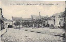 STE MAURE : LA PLACE DU MARCHE - Andere Gemeenten