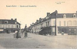 03    Lurcy-lévy     Boulevard Gambetta - France