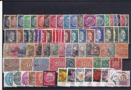 Germany, Lot Used Stamps - Verzamelingen (zonder Album)