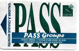 5 TITRES TRANSPORT BILLETS TICKETS AUTOBUS  RÉSEAU STAN NANCY DIVERS PASS 20  STANISLAS MAXI PASS U  PASSU  PASS GROUPE - Europe