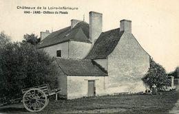 Jans * Château Du Plessis * Chateaux De La Loire Inférieure N°1045 - France
