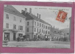 25.- MORTEAU -   Place Carnot Rue De La Gare - France
