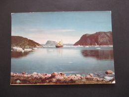 AK Grönland 1961 Dodthab Bay Mit M/S Umanak Grönland Trading Fleet. Mit Sonderstempel - Briefe U. Dokumente