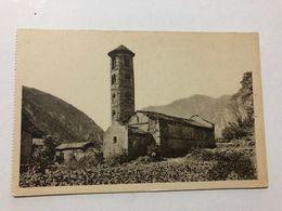ANDORRA - SANTA COLOMA - CAMPANAR ROMANIC - 1920 -  POSTCARD - Andorre