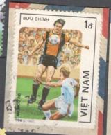 Vietnam 1986 Used Football, Soccer, World Cup - Mexico 1986 - Vietnam