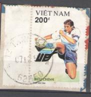 Vietnam 1992 Used Football, Soccer, European Football Championship, Sweden - Vietnam