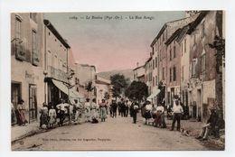 - CPA LE BOULOU (66) - La Rue Arago (belle Animation) - Edition Brun 1069 - - France