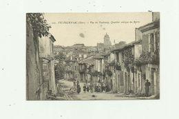32 - VIC FEZENSAC - Vue Du Faubourg Quartier Antique Du Barry Animé Bon état - Vic-Fezensac