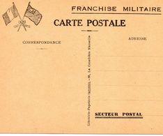 FRANCHISE MILITAIRE - - Militaria