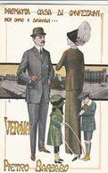 Cartolina - Postcard / Non Viaggiata - Unsent /  Pietro Barbaro - Confezione Per Uomo E Signora - Verona. - Pubblicitari