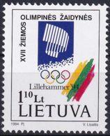 LITAUEN 1994 Mi-Nr. 547 ** MNH - Lithuania