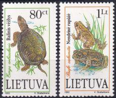 LITAUEN 1993 Mi-Nr. 545/46 ** MNH - Lithuania