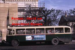 ReproductionPhotographie De Bus TN4H Ligne 24 Gare St-Lazare Avec Publicités Contrexéville à Maisons-Alfort En 1967 - Repro's