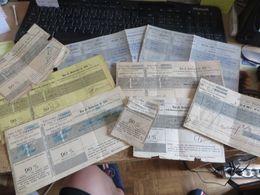 DOCUMENT FRANCE ET ALGERIE ,, Sur CHEMIN DE FER - TRAINS - Documents Historiques