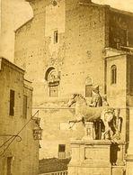 Ara Coeli Castor Et Pollux Rome Italie Old CC Photo - Plaatsen