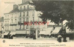 SL 41 BLOIS. Hôtel Du Château Et Magasin De Cartes Postales & Photographies - Blois