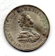 GERMAN STATES - HESSE CASSEL, 1/6 Thaler, Silver, Year 1823, KM #579.1 - [ 1] …-1871: Altdeutschland