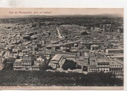 Cpa.34.Montpellier.vue Générale Prise En Ballon.1907 - Montpellier