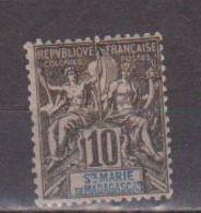 MADAGASCAR -SAINTE MARIE      N°  YVERT  5       NEUF AVEC CHARNIERES      ( CHARN  03/ 37 ) - Madagascar - Sainte-Marie (1894-1898)